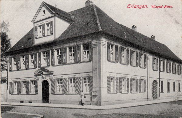 Wingolf Haus in Erlangen